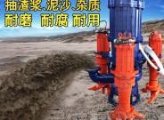 zjq潜水抽沙泵渣浆22千瓦立式河道清淤吸沙机河底搅拌抽砂泵
