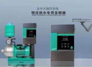 恒压供水水泵专用背负式变频器加立式一体机卧式水泵专用
